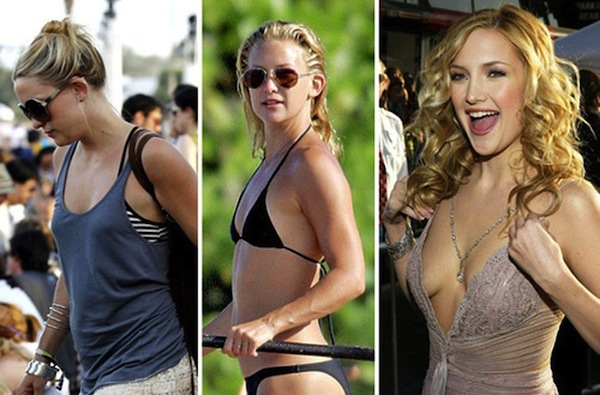 best celebrity boob jobs, kate hudson