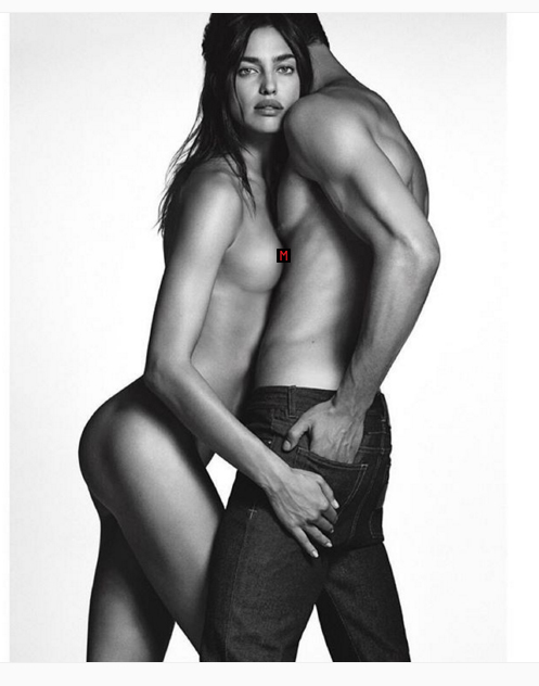 Irina Shayk Has A Nip Slip On Instagram In Steamy Givenchy Jeans Shoot