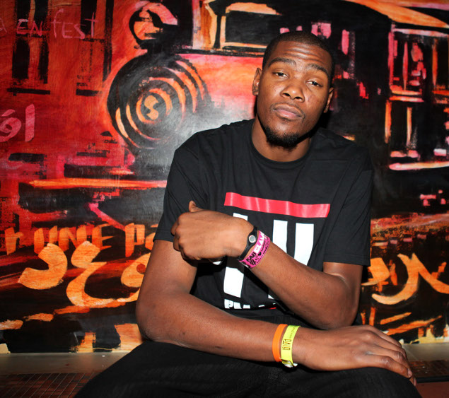 Kevin Durant $1M Redcross Donation