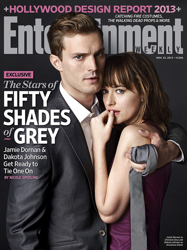 Fifty Shades of Grey EW Cover