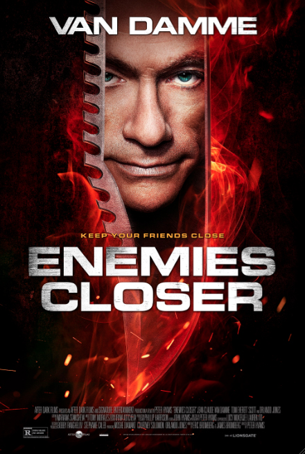 Enemies Closer Exclusive Poster SD
