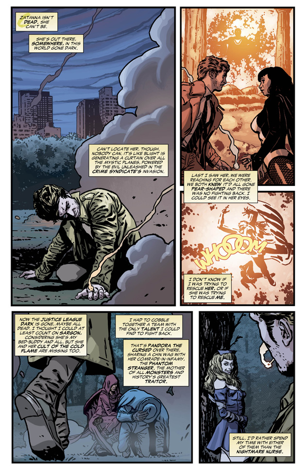 Constantine #9 Preview 2