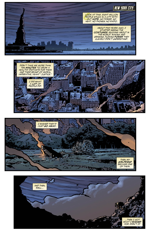 Constantine #9 Preview 1