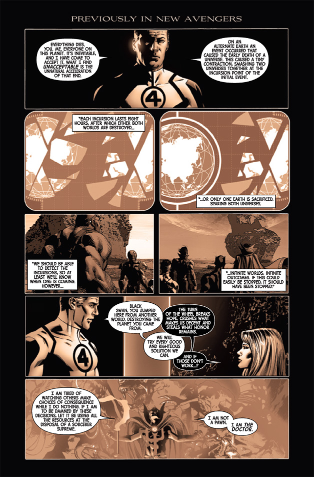 New Avengers #13 Preview 1