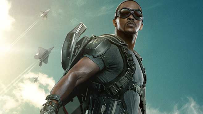new falcon poster for captain america the winter soldier