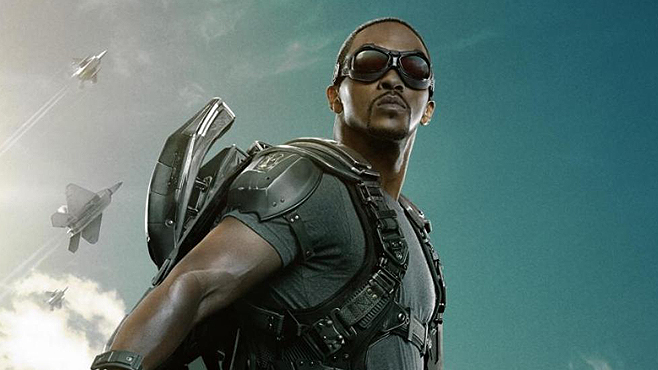 Captain America The Winter Soldier Anthony Mackie