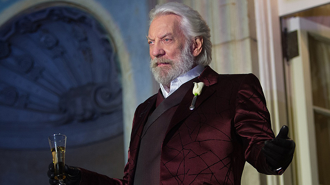 The Hunger Games: Catching Fire - Exclusive President Snow ...
