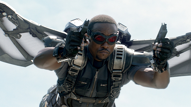 Captain America The Winter Soldier Anthony Mackie Falcon