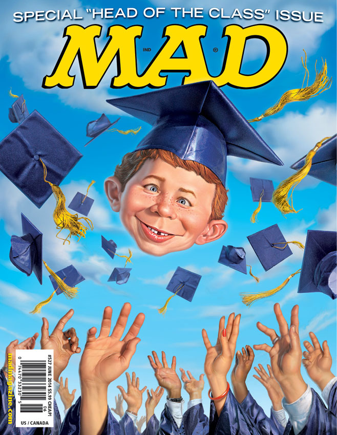 MAD 527 Graduation Cover