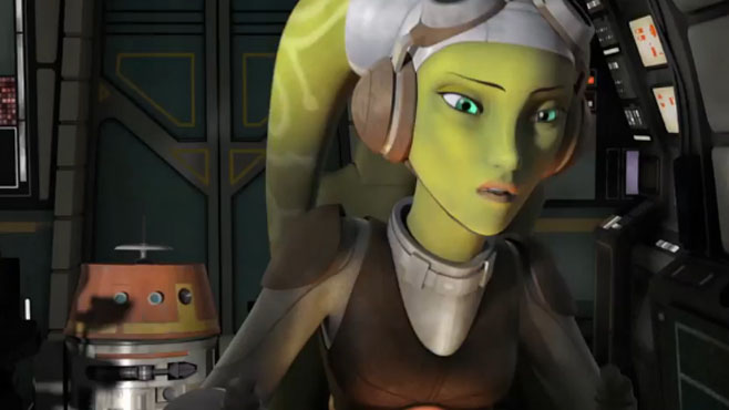 Star Wars Rebels Preview Scene