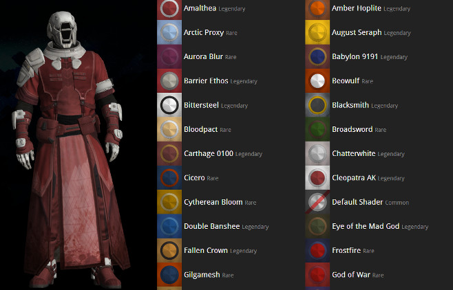 Here's How to Preview Shaders for Your Character in Destiny