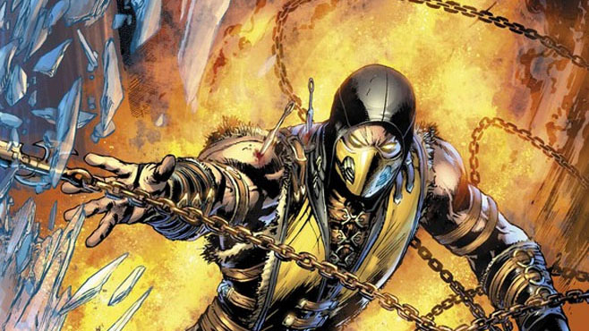 Mortal Kombat Scorpion Preview