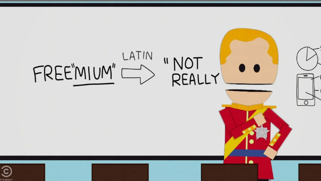 """South Park Trashes """"Freemium"""" Games Like The Simpsons: Tapped Out"""