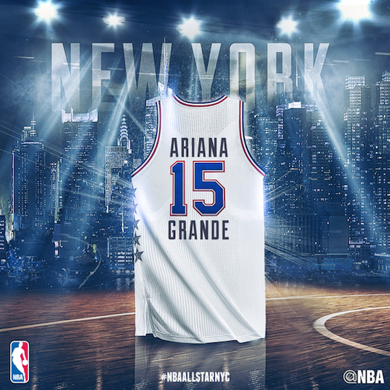 NBA All Star Ariana
