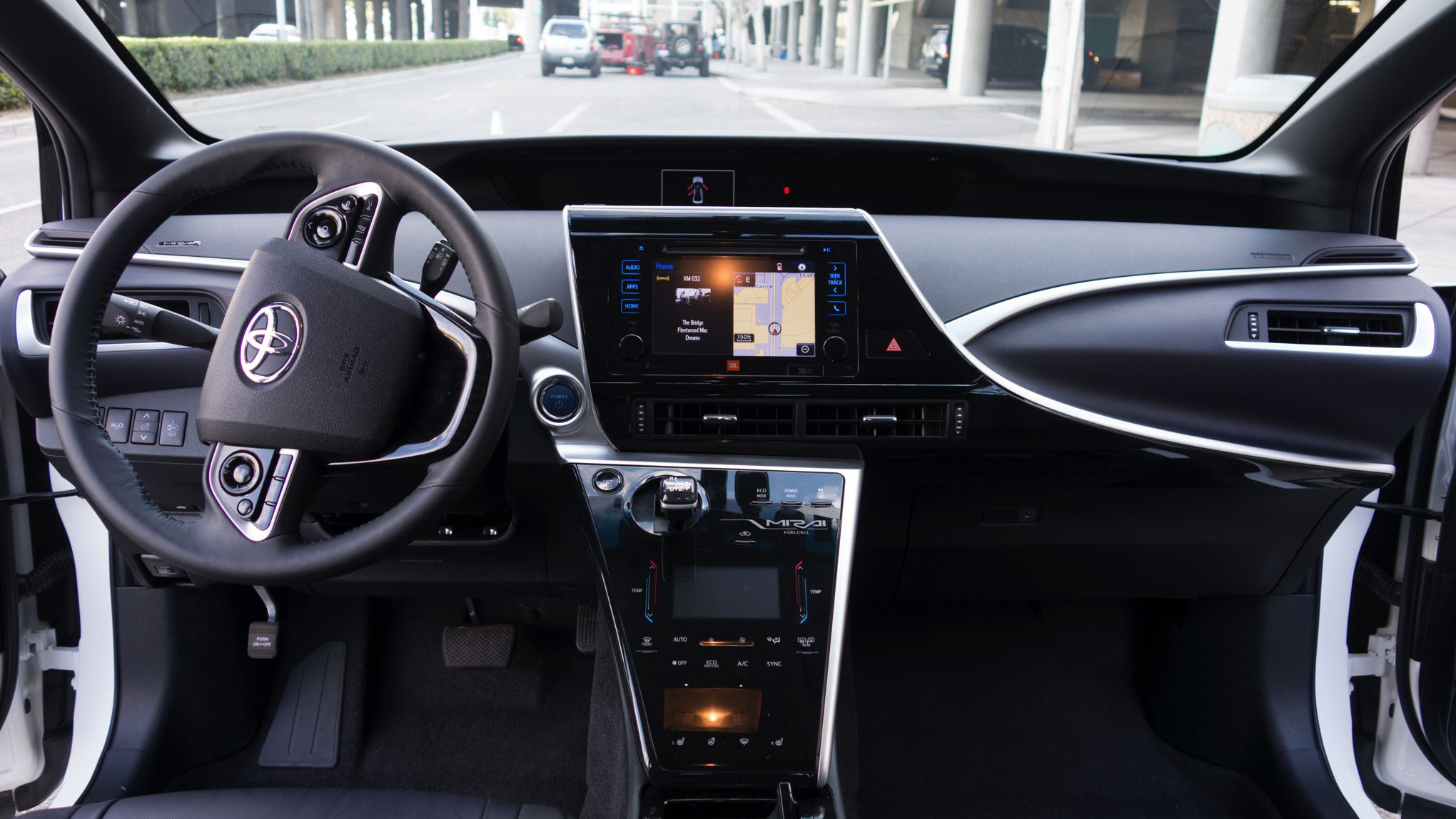 the drive living s way mirai ces toyotas toyota hydrogen powered revolutionize may laas