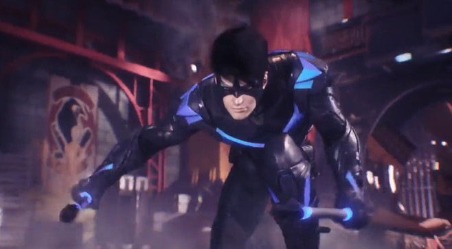 NightwingArkhamKnight