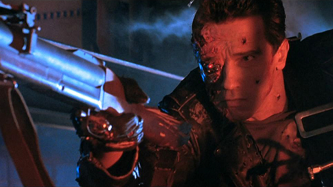 Terminator 2 Judgment Day Arnold Schwarzenegger