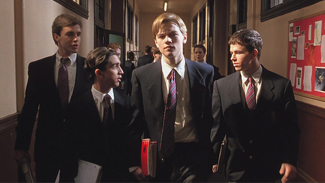 The Basketball Diaries Leonardo DiCaprio Mark Wahlberg