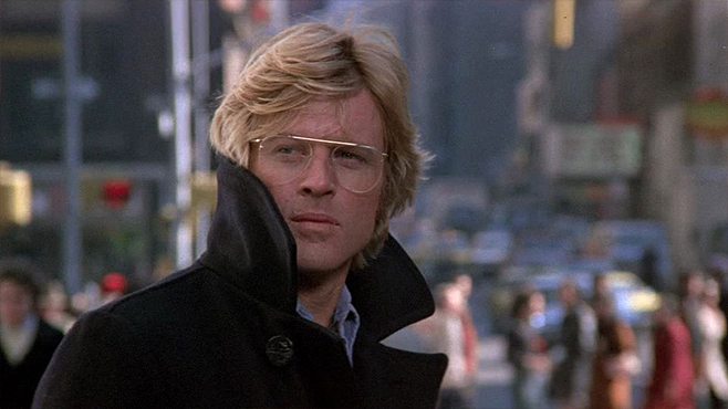 Three Days of the Condor Robert Redford