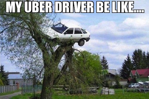 Funny Uber Memes : The 10 types of uber drivers you'll encounter mandatory