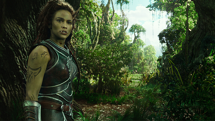 Warcraft Paula Patton