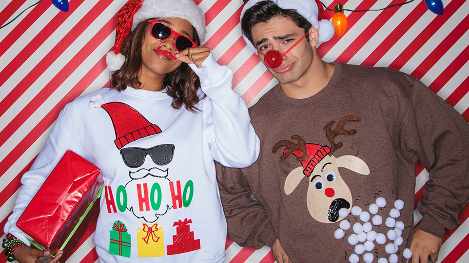 Christmas Sweater Ideas For A Party Part - 24: Kitschy Christmas Sweaters