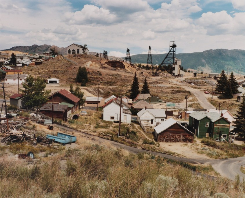 Mt. Con Mine and Centerville, Butte, Montana, 1985.