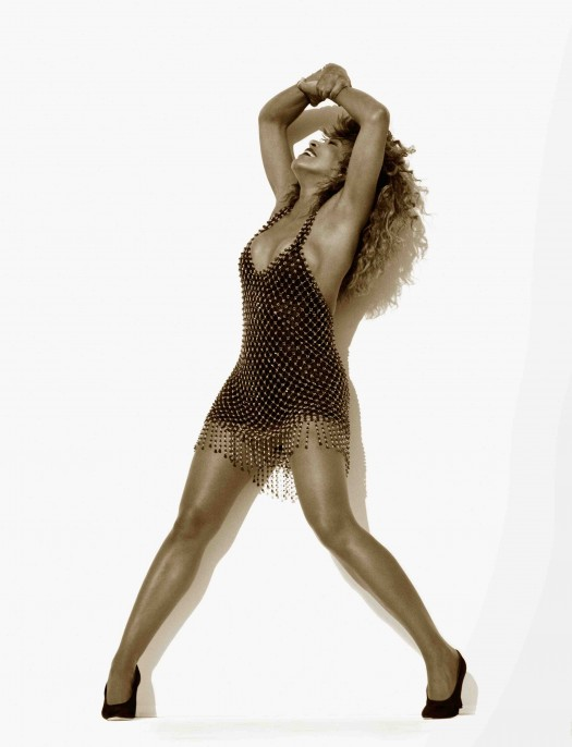 Herb Ritts (American, 1952–2002). Tina Turner, Hollywood, 1989. Foreign Affair album promotion