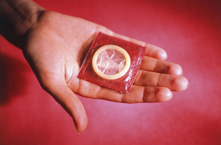 Style of a condom think