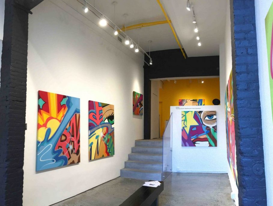 JoAnne Artman Gallery, New York, presents Breaking Ground: Redefining the Urban Experience, installation view