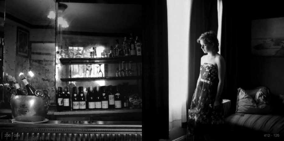 ADOLFO DORING, Restaurant, Paris; Naian, Brooklyn (POSTED 162 GRAMS) - Unique work, 2016, silver gelatin print mounted on archival board and framed 4 x 8 in