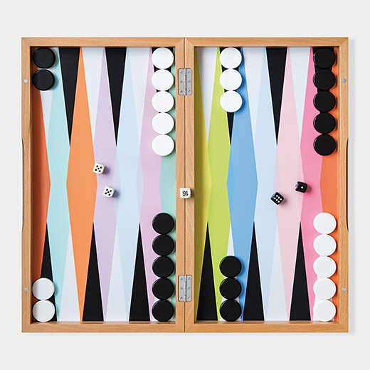 Colorful Backgammon Set, courtesy of the Museum of Modern Art