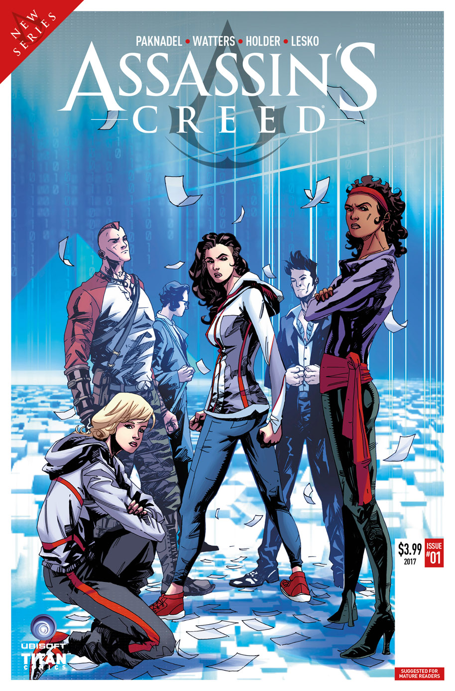 Assassin's Creed 1 Cover D - Jose Holder