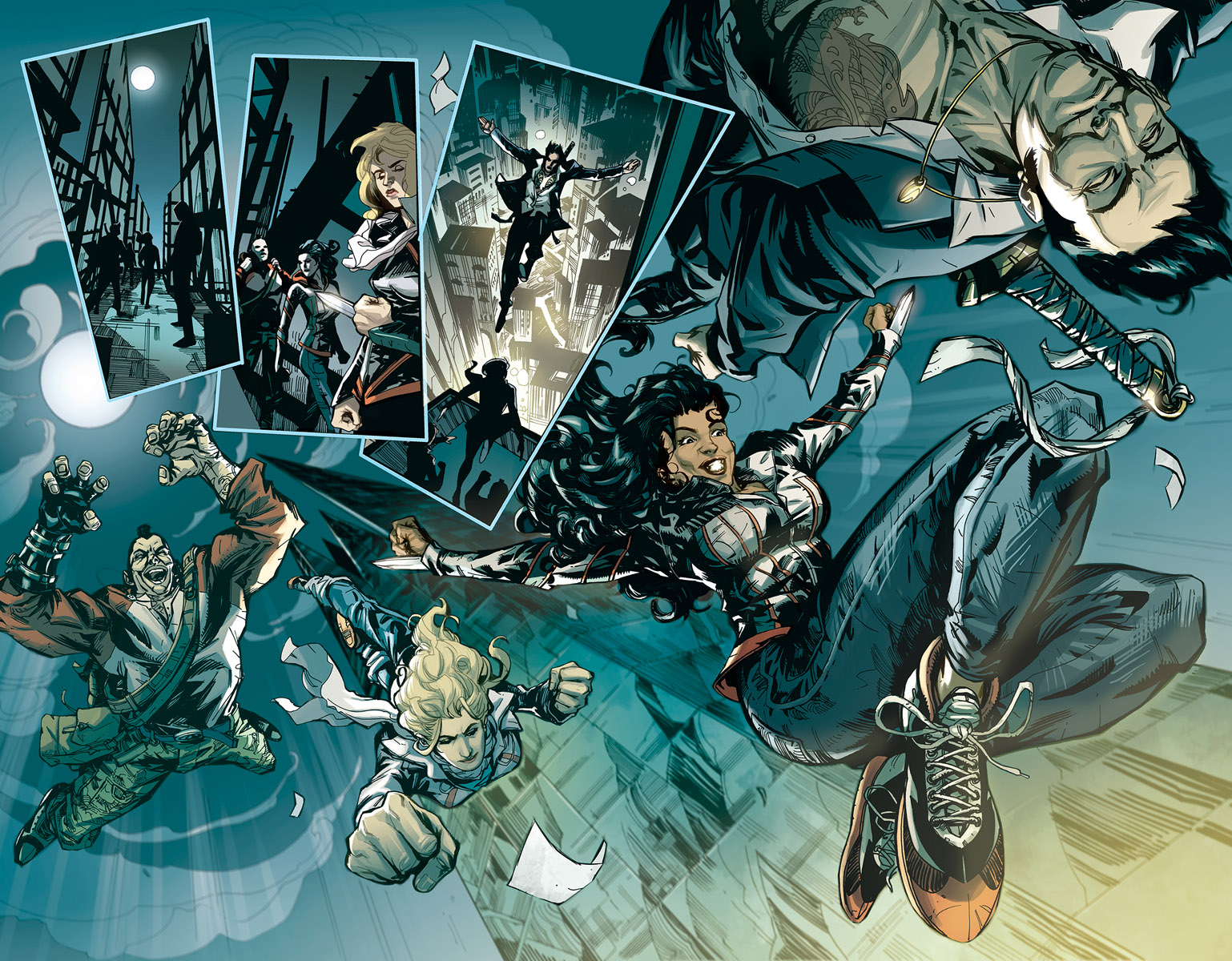 Assassin's Creed 1 Page Preview 1 Jose Holder
