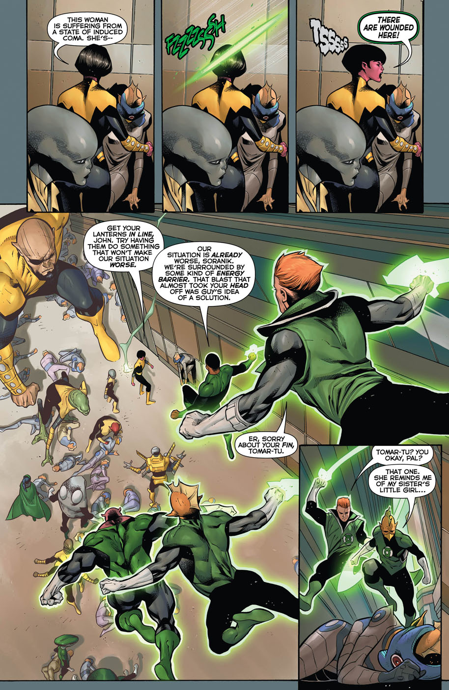Hal Jordan and the Green Lantern Corps 9 page 4