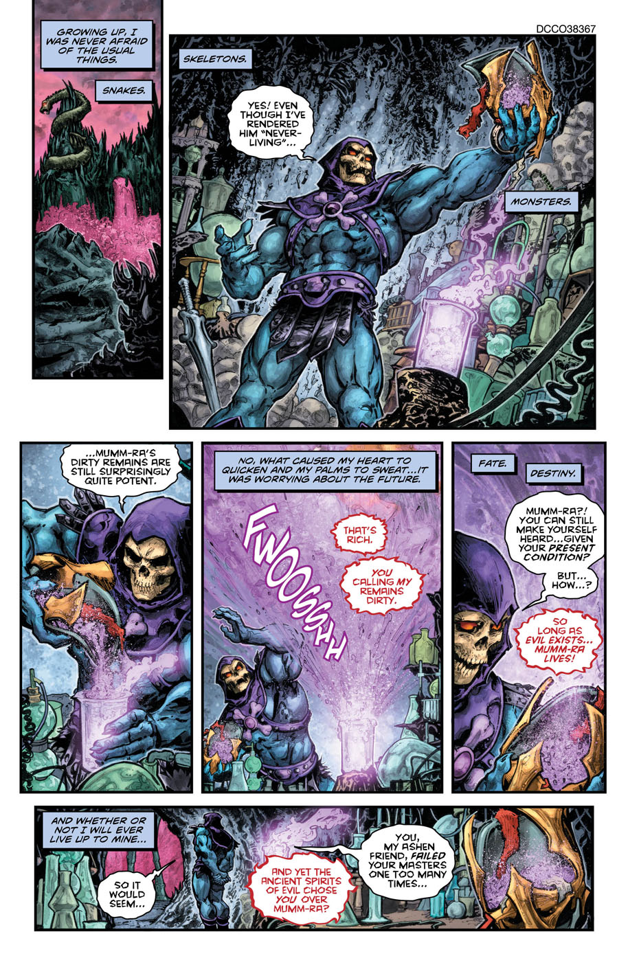 He-Man Thindercats 2 page 1