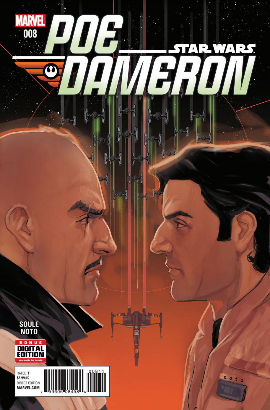 Star Wars Poe Dameron 8 cover