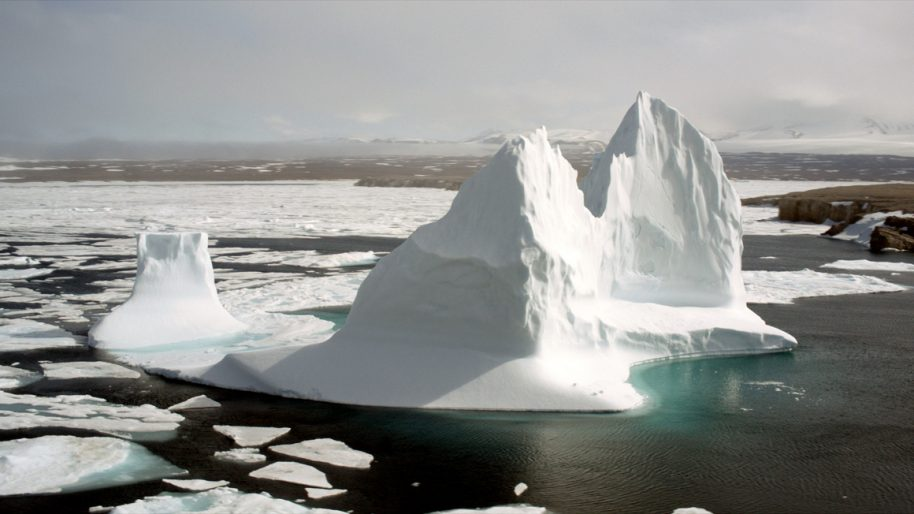 Melting Glaciers, The Arctic Circle
