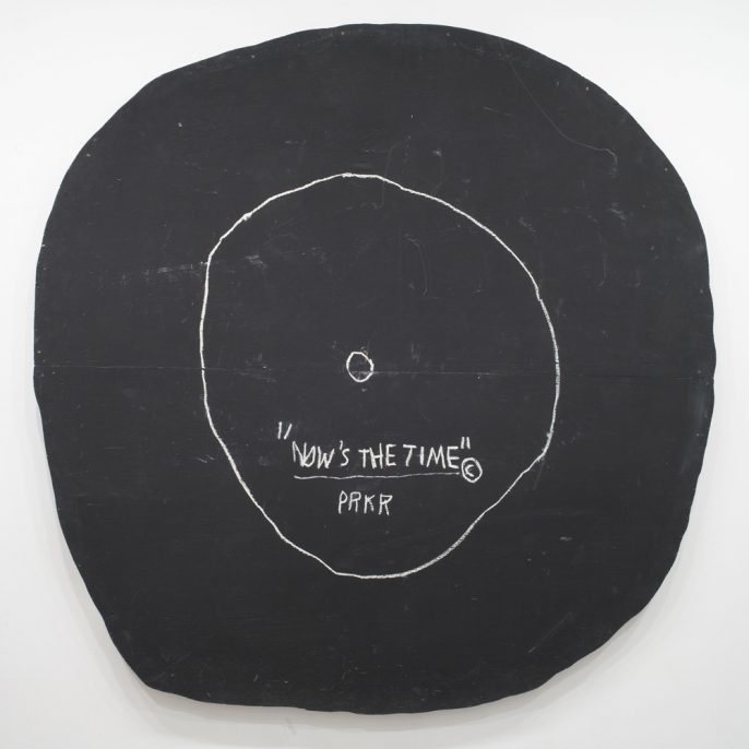 Jean-Michel Basquiat, Now's the Time, 1985