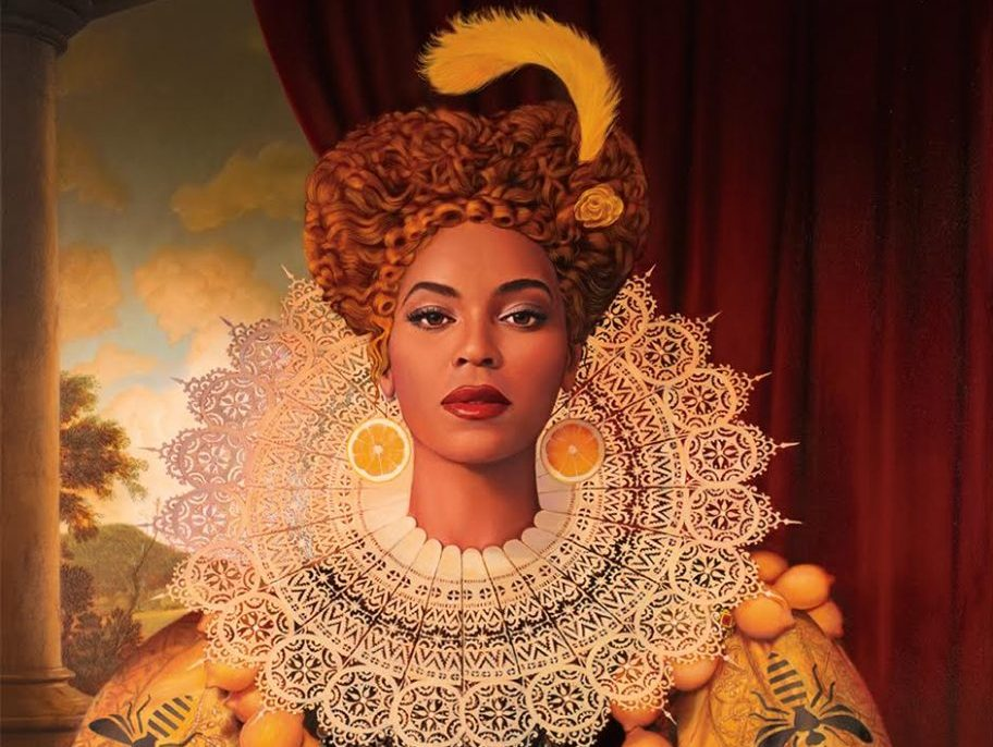 Artwork: Beyoncé by Tim OBrien for Entertainment Weekly.