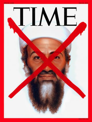Osama Bin Laden by Tim O Brien for Time Magazine