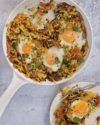 Persian-Style Potatoes and Eggs