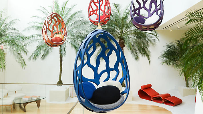 "Louis Vuitton ""Objets Nomades"" introduces the Campana Brothers Cocoon."