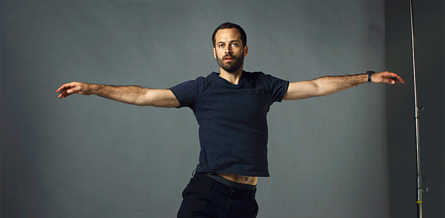 Benjamin Millepied. Photo by Patrick Fraser for Télérama