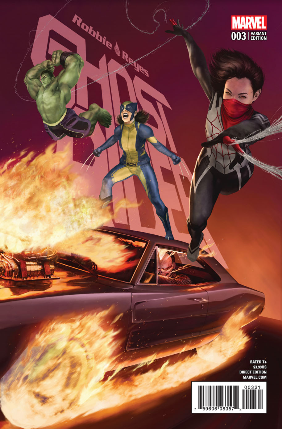 Ghost Rider 3 Variant Cover