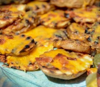 Grilled Potato Skin Rounds