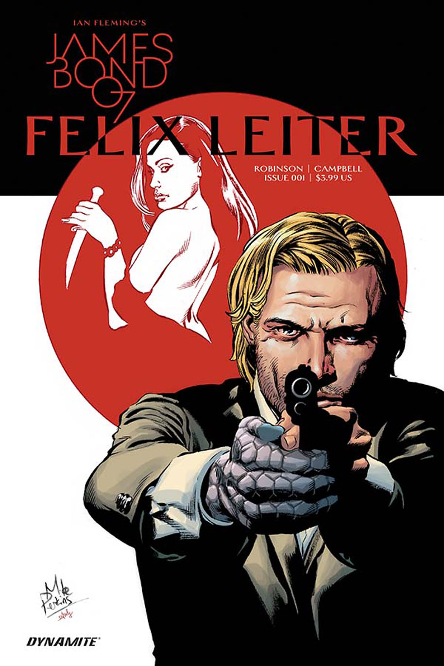 James Bond Felix Leiter 1 cover Mike Perkins
