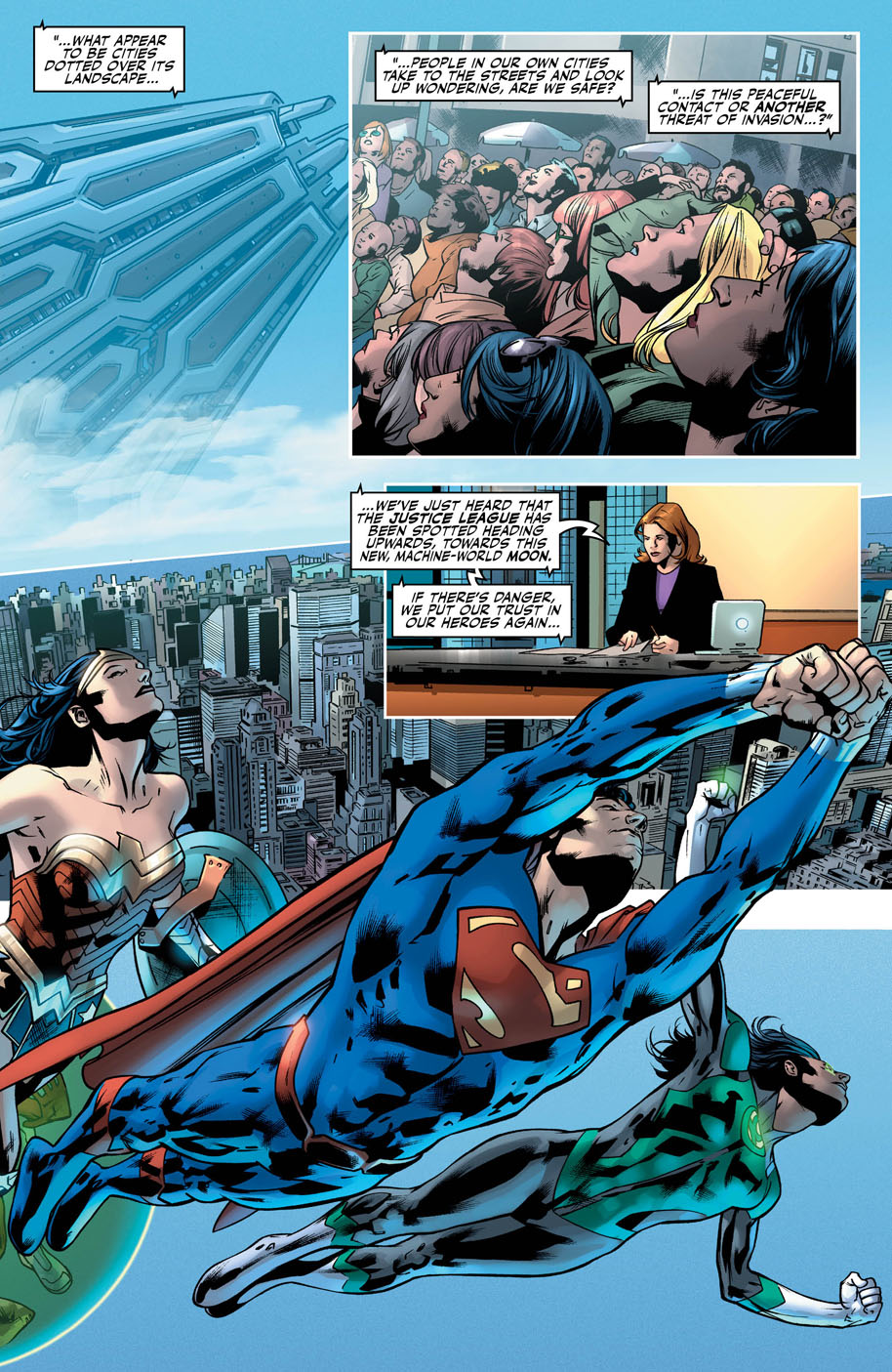 Justice League 14 page 3