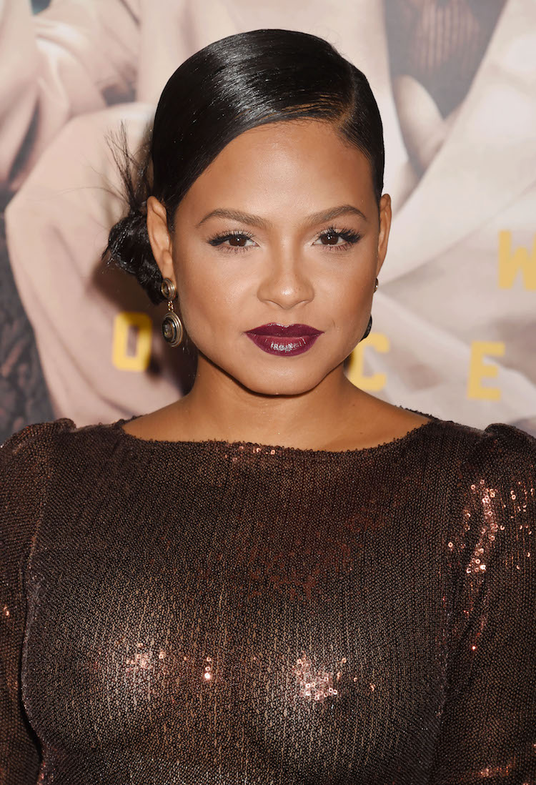 Christina Milian Completely Exposes Herself At Movie Premiere