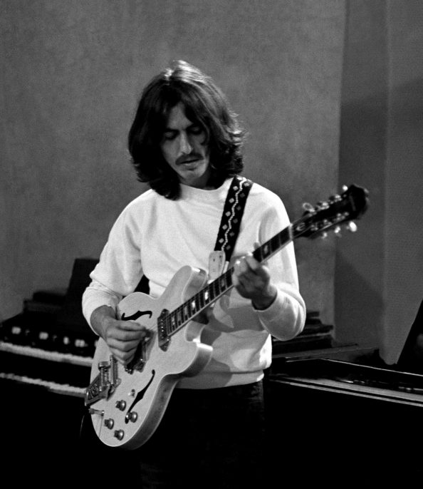 George in studio 1969
